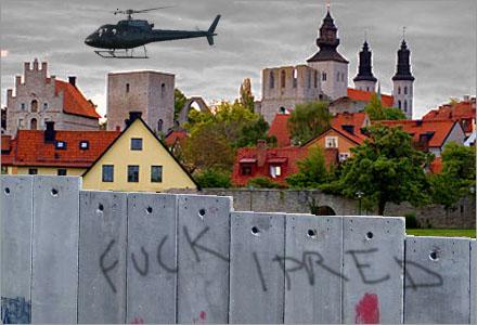 Visby blir kärnan Gotlandsfängelset där 900.000 fildelande brottslingar kommer interneras.