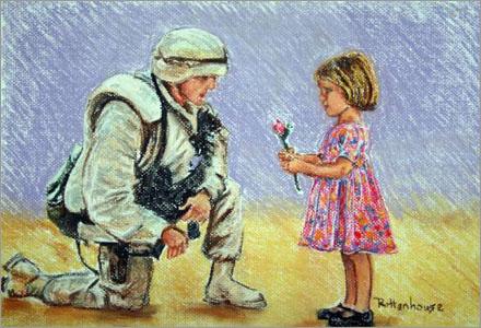 Både officerare och soldater kom fram till att krig är rätt fånigt.