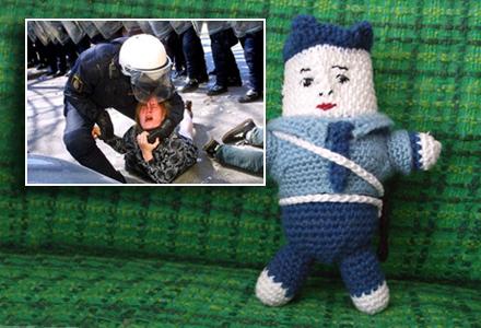 Bilden av den brutale polisen stämmer aldrig
