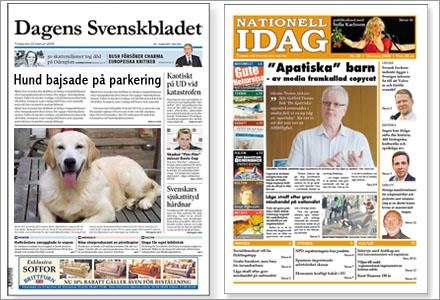 Beslutet om att vilken skit som helst kan få presstöd öppnar för en pappersversion av Svenskbladet.
