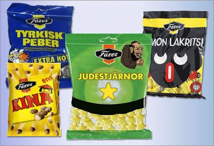 Judestjärnor med smak som påminner om skumbanan är det senaste i Fazers godissortiment.
