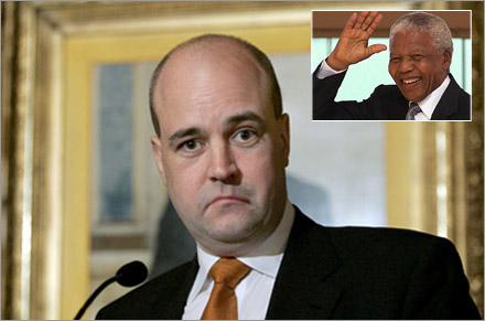 """""""Rättsperspektivet"""" är alltid ständigt närvarande för Reinfeldt."""