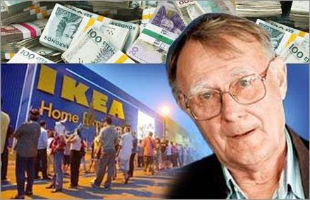 Ingvar Kamprad har skitmycket pengar, är du förvånad?