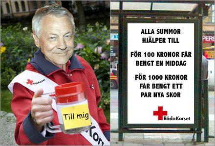 Alla gåvor är välkomna även små medel kan hjälpa Bengt.