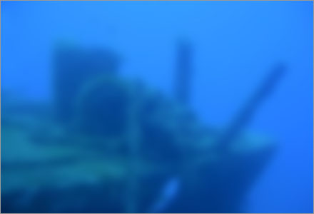 Roligare än så här blir inte ett jävla skeppsvrak så länge det ligger på havets botten.