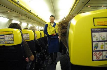 I framtiden kommer Ryanairs flyg att lukta piss.