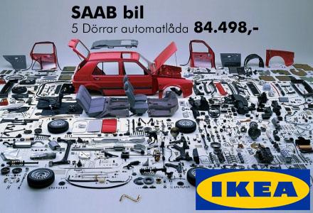 IKEA kommer till�mpa samma princip som p� sitt �vriga sortiment f�r att pressa priserna.