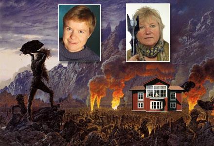 Enter ledda av Åsa Domeij belägrar Marianne Samuelssons hus på Gotland.