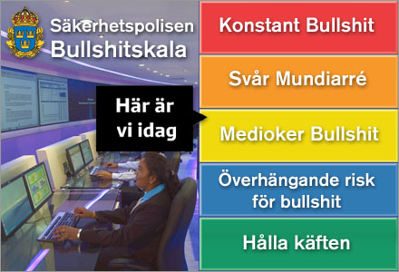 Bullshitnivån ligger nu på samma nivå som när Edvard Unsgaard uppdaterar sin Facebookstatus.
