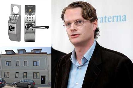 Per Schlingmann, Moderaternas chefsstrateg, investerade till hemmet.
