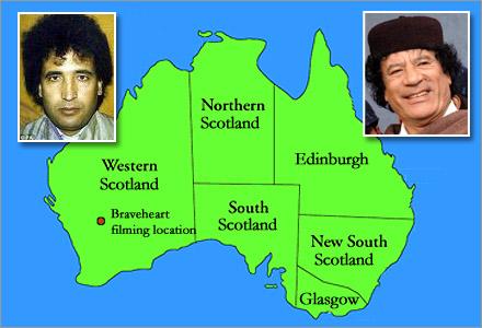 Amerikaner undrar ifall detta är Skottland?