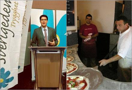Turkar som jobbar i pizzerior är bland de farligaste islamisterna enligt Åkesson.