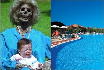 Grannarna upptäckte förutom den skrikande babyn också en död mormor.