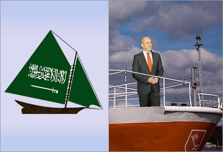 Ship to Saudi kommer att frakta krigsmateriel till Saudiarabien.