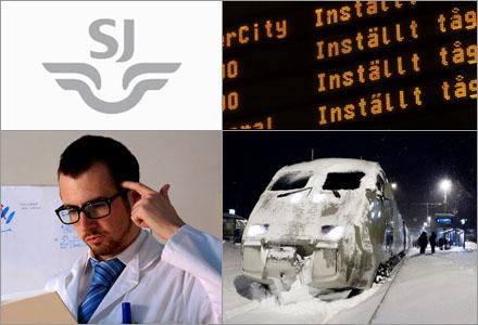 SL slår nu av tågtrafiken för att straffa krångliga resenärer.
