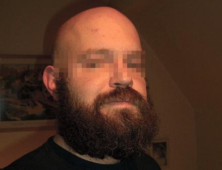 27-åringen planerade att odla skägget under en längre tid enligt källor.
