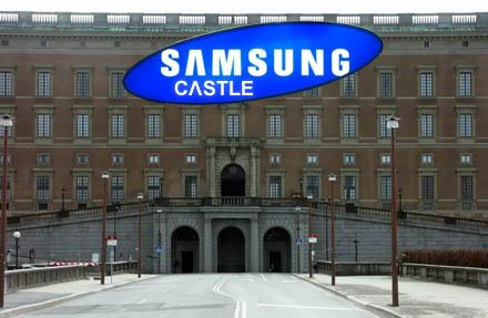 Glöm bort Stockholms Slott, nu är det Samsung Castle som gäller.