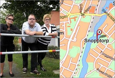 Boende i Snopptorp är trötta på att bli hånade och förlöjligade av utomstående.