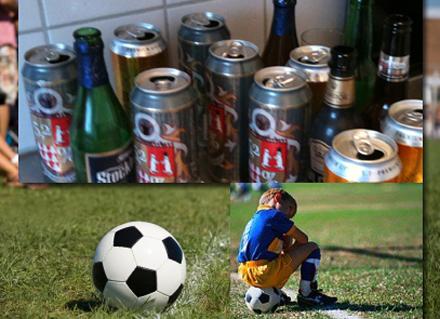 Öl och fotboll - ett succékoncept.