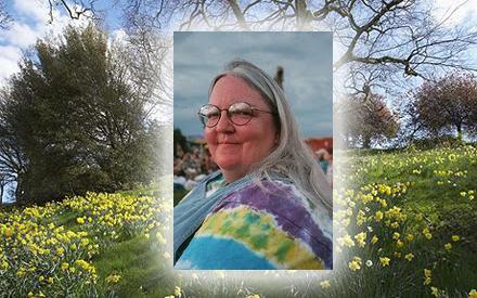 Henrietta Danielsson är lycklig över att våren kommit till Sverige.