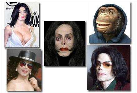 En av dem är den riktige Michael Jackson