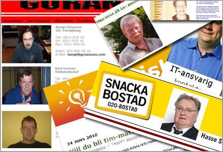 Svenska familjeföretags hemsidor och/eller personal ser verkligen ut som en kasse skridskor
