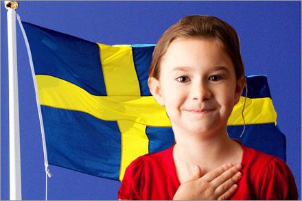 """""""Jag svär att årligen titta på Melodifestivalen."""""""