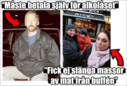 Rattfylleristen Torbjörn fick betala för alkolåset. Malin och Annika fick inte slänga buffématen. Vad blir nästa trivial mediabesvikelse?