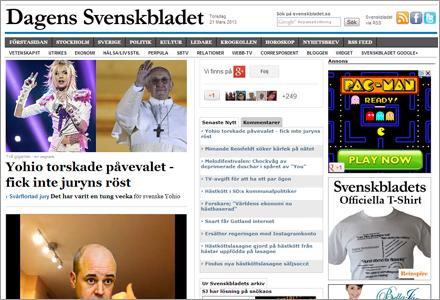Det är inte alla som förstått att Svenskbladet.se är en webbsida.