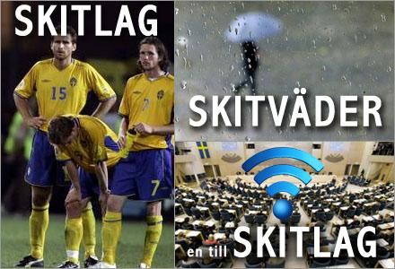 Allting gick fel för Sverige under onsdagen.