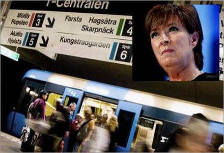 Sverige är nu en tunnelbanebaserad ekonomi.