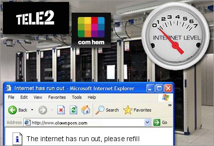 Snart kan även du får en riktigt dålig internetuppkoppling