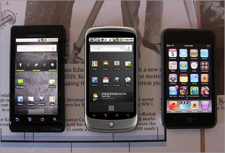 Den nya generationens mobiltelefoner är intelligentare än tonåringar.