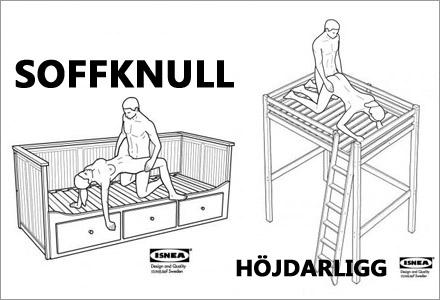 IKEA lanserar nu sina sexmöbler fullt ut.