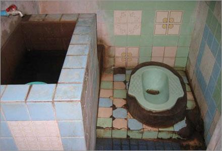 Riddar Jakobs toalett.
