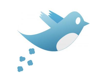 Twitters uppdaterade logotyp, efter avslöjandet.