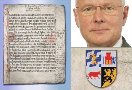Riksdagsmannen Finn Bengtsson (m) vill lagstifta mot äldre Västgötalagen.