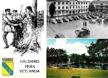 Nygammal hälsning från Vetlanda