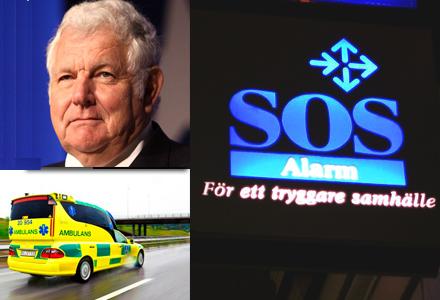 Ragnar, 59, fick bra hjälp av SOS Alarm.