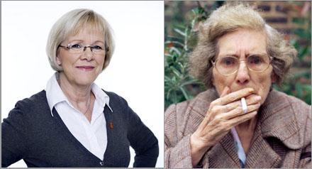 Svenskbladet kan skilja på Wanja Lundby-Wedin och inte Wanja Lundby-Wedin.