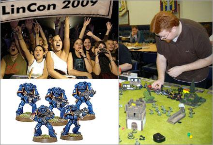 Warhammer 40.000 är en riktig brudmagnet, speciellt om man har en välmålad armé.