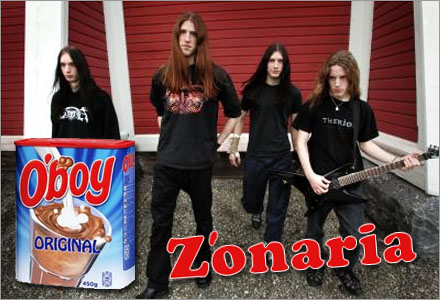 Zonaria brukar dricka varm choklad och äta mammas bullar när de är på turné.